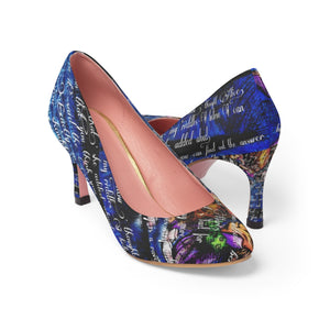 Alice's Adventures in Wonderland Tea Party High Heels-Starry Meadows