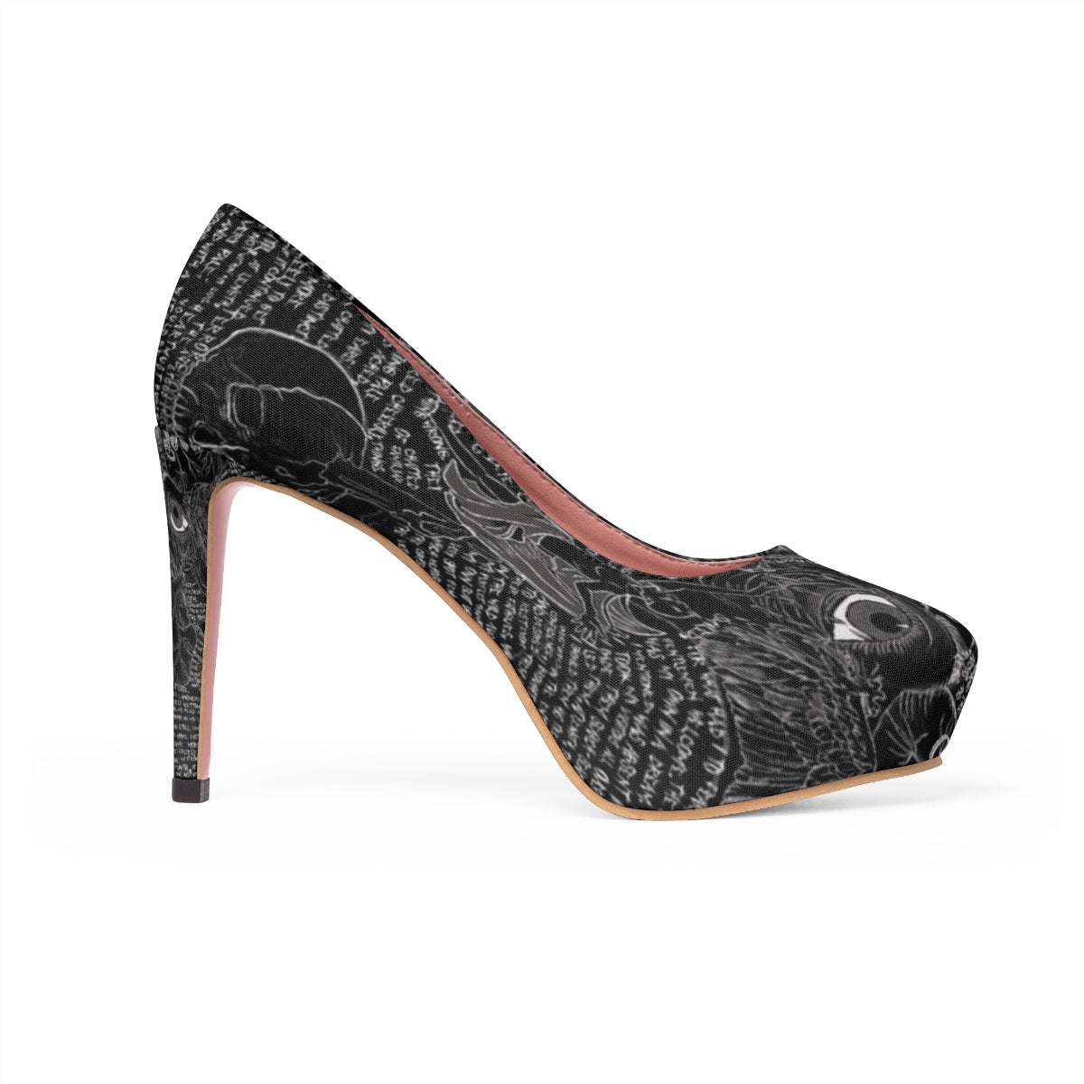 The Tell-Tale Heart Stiletto Pumps