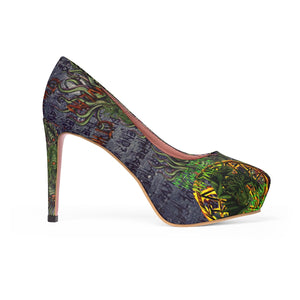 Cult of Cthulhu  Stiletto Pumps-Starry Meadows