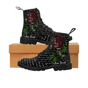 Grasp the Thorns Anne Brontë Women's Boots-Starry Meadows