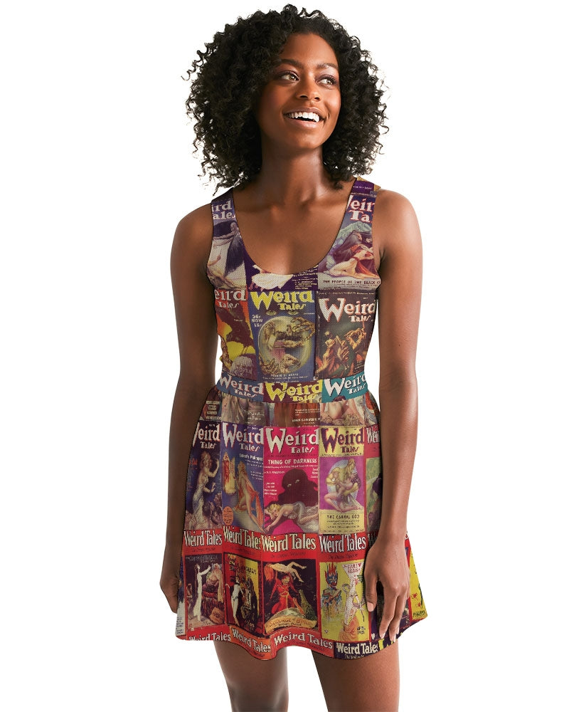 Weird Tales Skater Dress-Starry Meadows