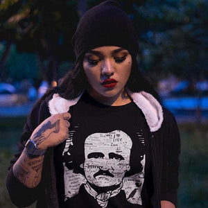 Edgar Allan Poe/Annabel Lee T-Shirt-Starry Meadows