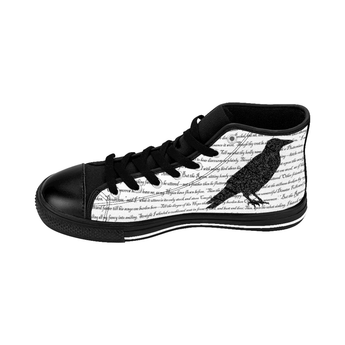 Edgar Allan Poe's The Raven Men's Sneakers-Starry Meadows