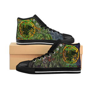 Cult of Cthulhu Women's  Sneakers-Starry Meadows