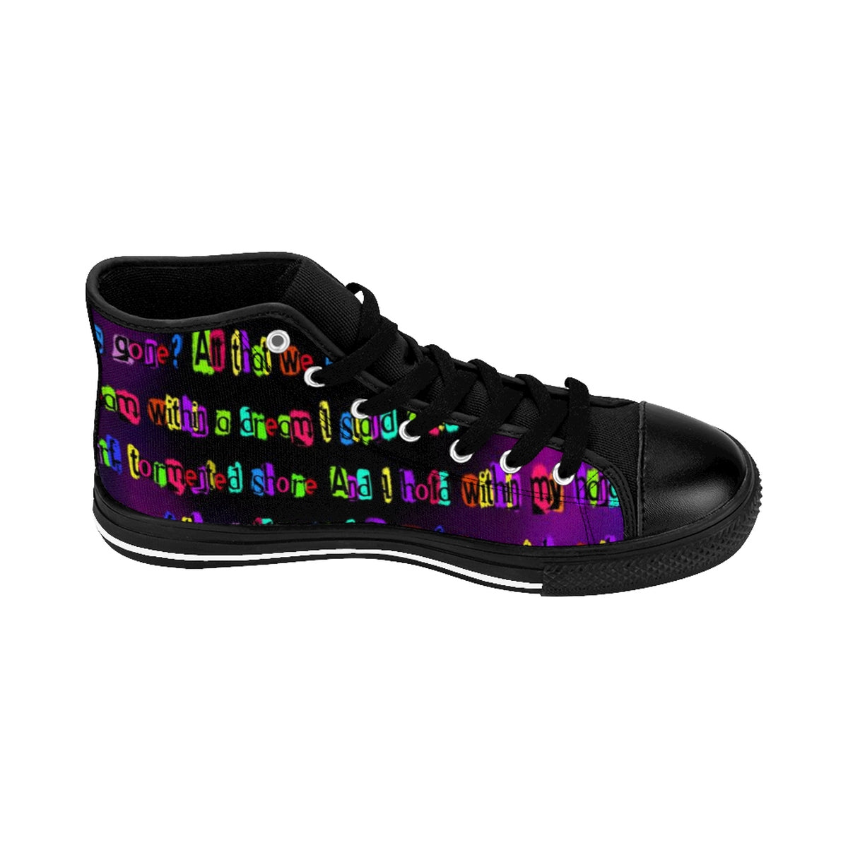 Dream Within a Dream Edgar Allan Poe Women's Sneakers