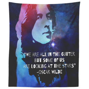 "Oscar Wilde ""Stars"" Tapestry-Starry Meadows"
