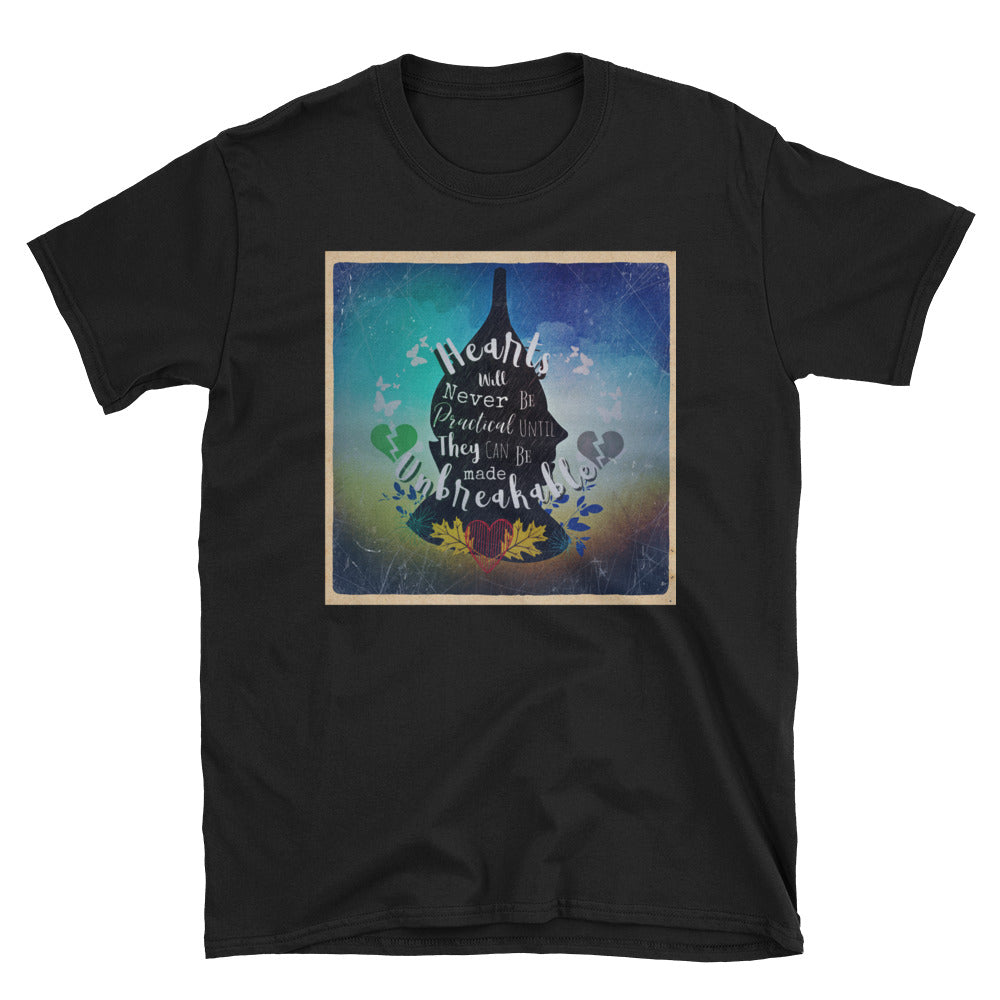 Tin-man Quote Unisex T-Shirt-Starry Meadows