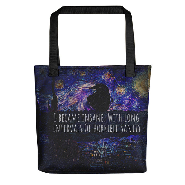 Starry Poe Tote bag-starry-meadows
