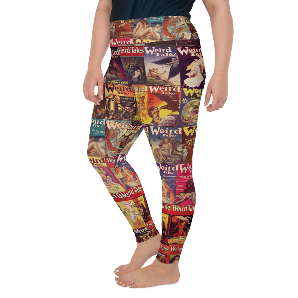 Weird Tales Plus Size Leggings-Starry Meadows