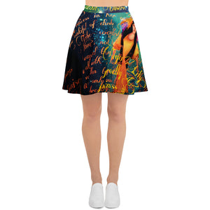 Tiger Lily Skater Skirt-starry-meadows