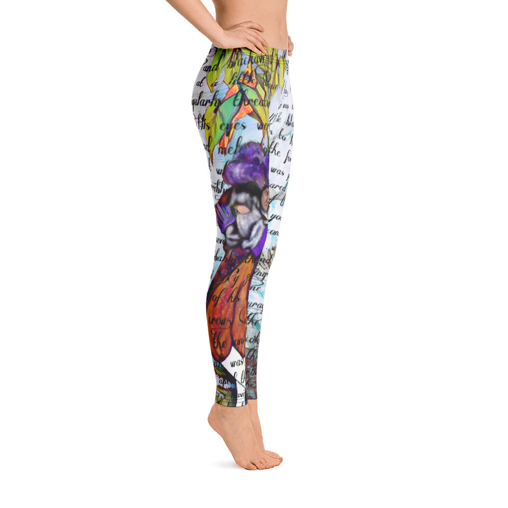 Peter Pan Captain Hook Leggings-starry-meadows