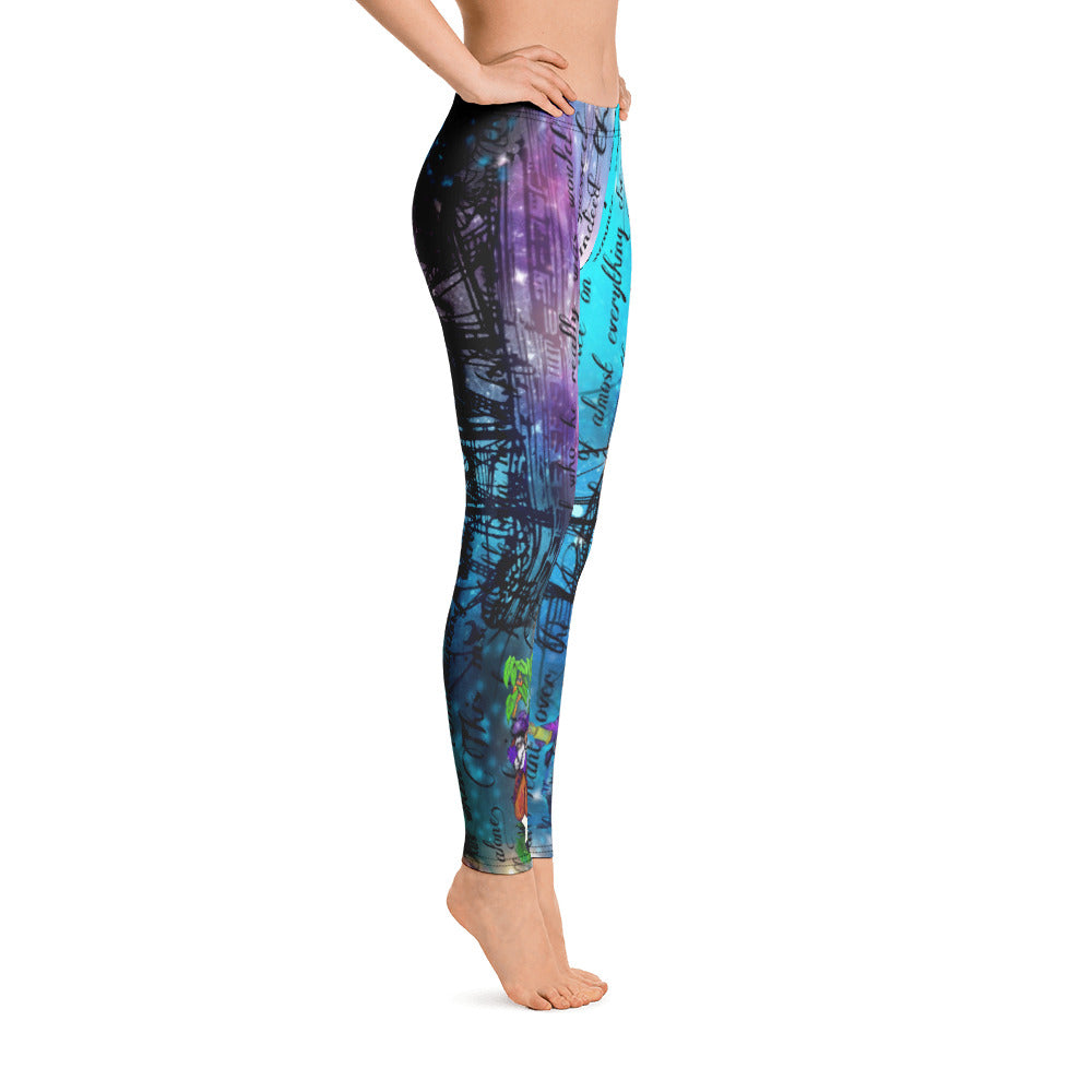Captain Hook & Smee Leggings-Starry Meadows