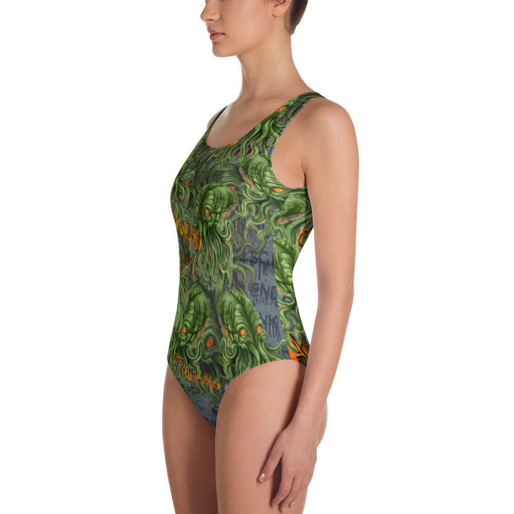 Cthulhu Swimsuit-Starry Meadows