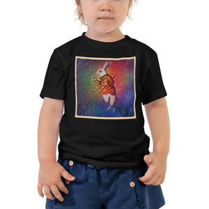 White Rabbit Toddler T-Shirt-Starry Meadows