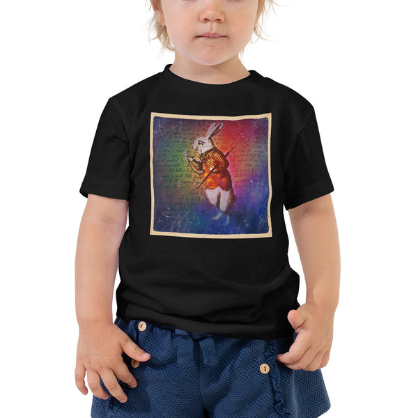 White Rabbit Toddler T-Shirt