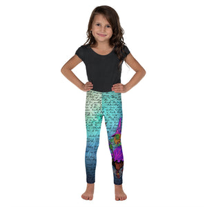 Wicked Witch Kid's Leggings-Starry Meadows