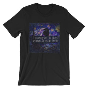 Insane Raven Short-Sleeve Unisex T-Shirt-Starry Meadows