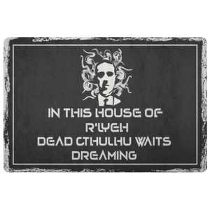 H.P. Lovecraft Cthulhu Doormat-Starry Meadows