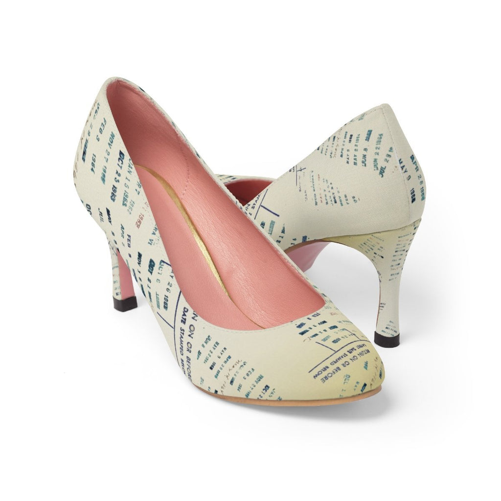 Library Date Stamp High Heels-Starry Meadows