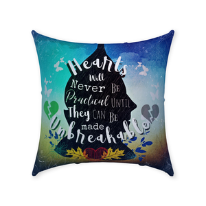 Tin Man Throw Pillow-Starry Meadows