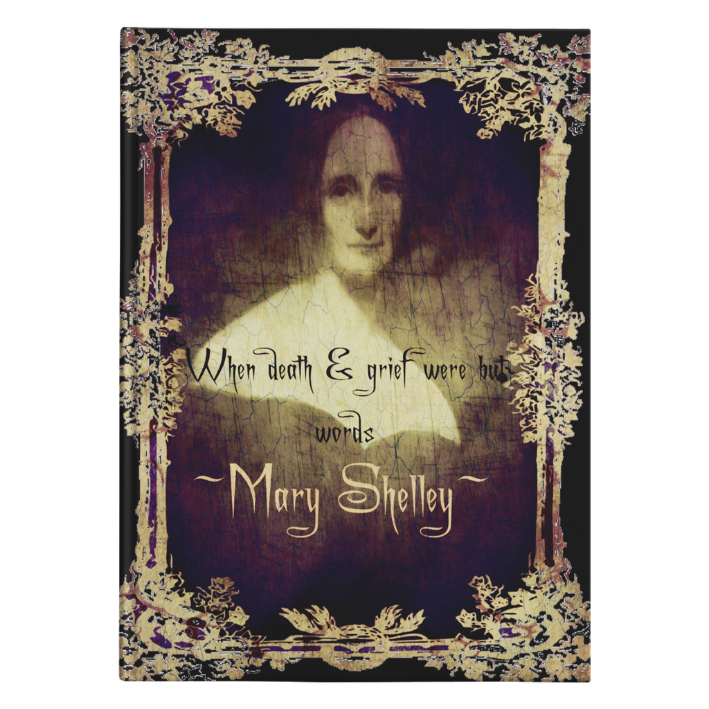 Mary Shelley Hardcover Journal-Starry Meadows