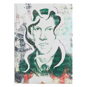 Lovecraft Graffiti Hardcover Journal-Starry Meadows