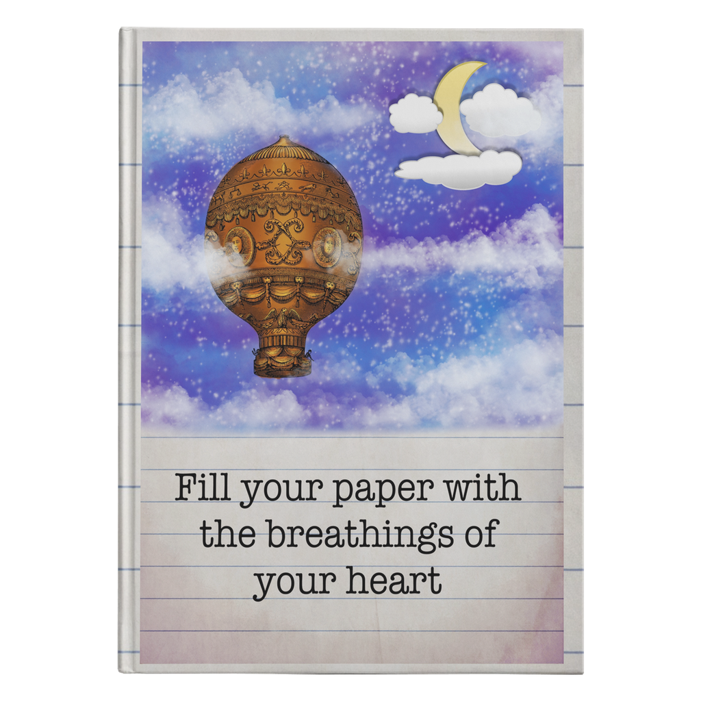 Breathings of Your Heart Hardcover Journal-Starry Meadows