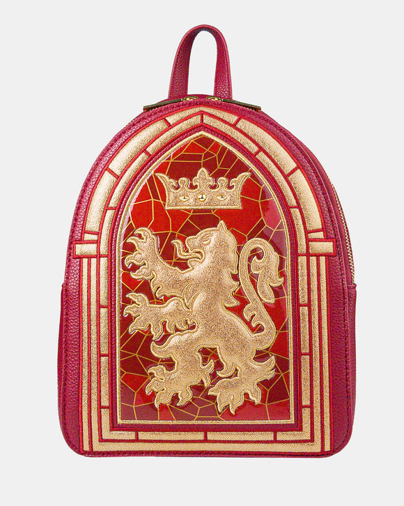 Gryffindor Stained Glass Backpack