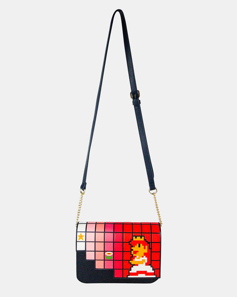 Princess Peach Crossbody
