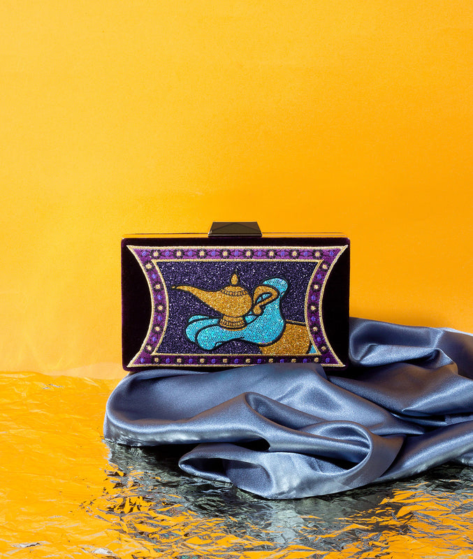 Magic Lamp Evening Clutch