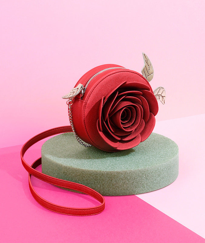 """Beautiful As A Rose"" Crossbody"