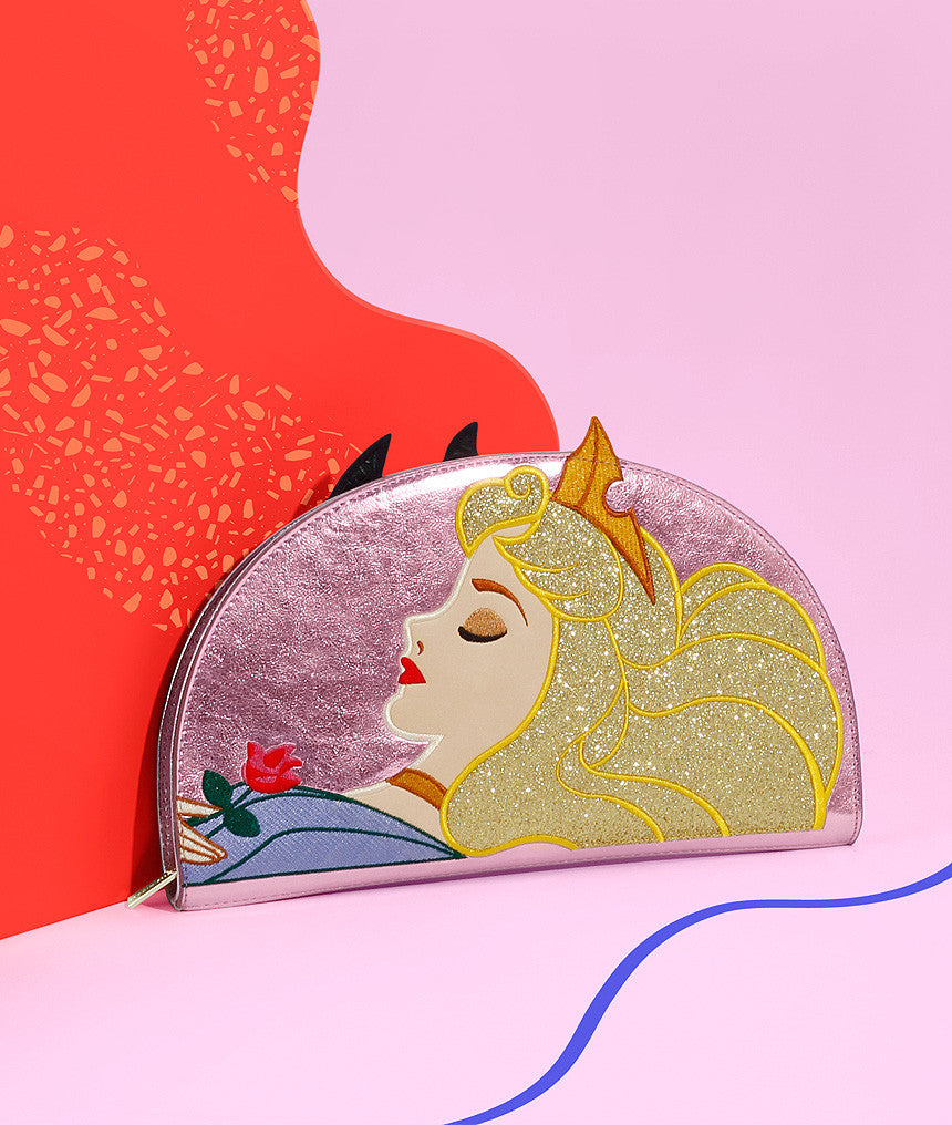 Sleeping Beauty 2 Sided Clutch