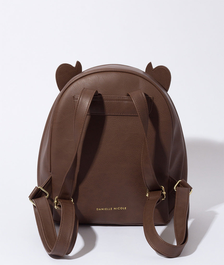 Beast Faux Fur Backpack