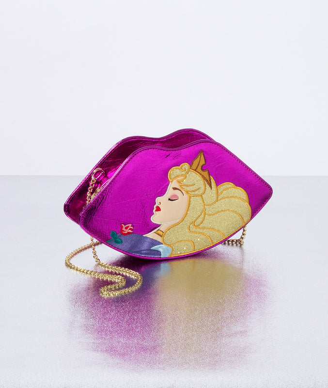 Sleeping Beauty Lips Crossbody