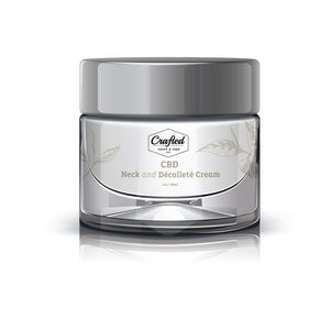 Crafted CBD - Neck and Decollete Anti-Aging Cream