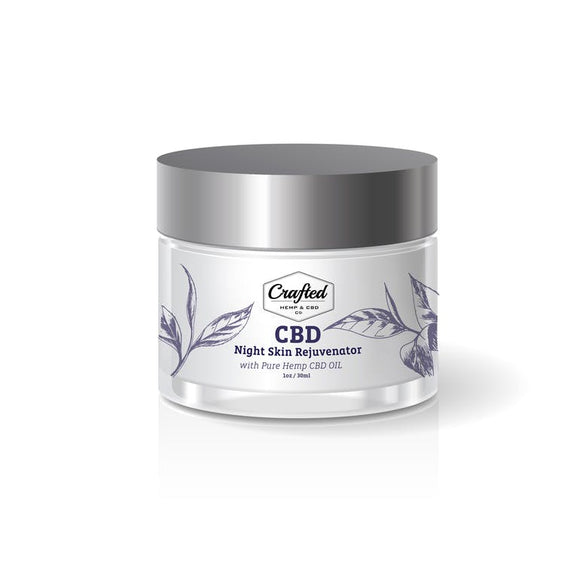 Crafted CBD - Night Skin Rejuvenator