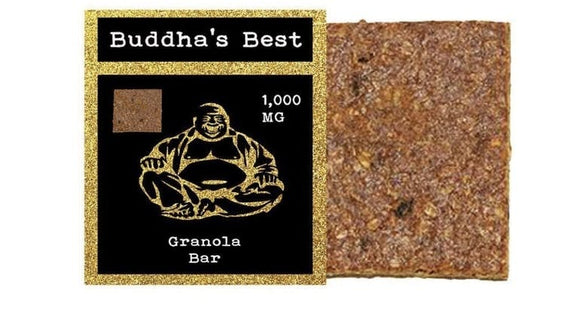 Buddha's Best - Granola Bar 1000mg