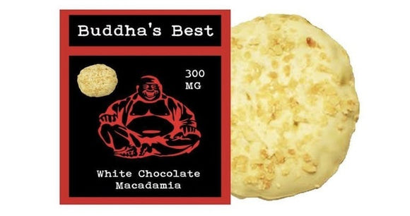 Buddha's Best - White Chocolate Macadamia Nut Cookie 300mg