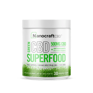 NanoCraft CBD - Superfood Green Powder