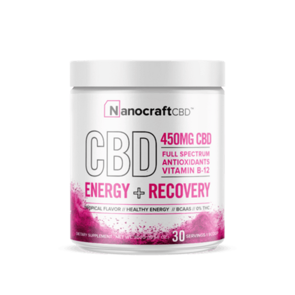 NanoCraft CBD - ENERGY + RECOVERY POWDER