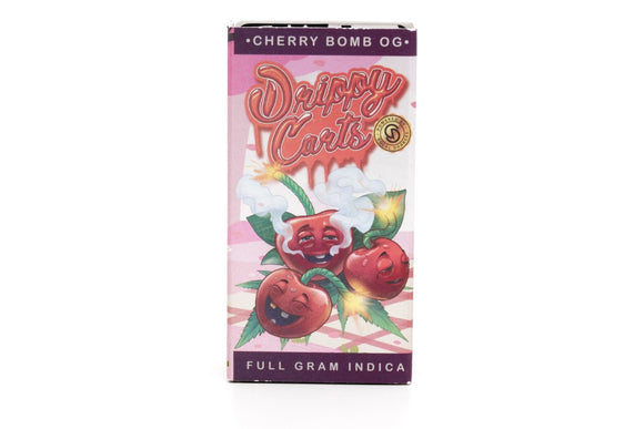 SoCal Dabbers Drippy Cartridge - Cherry Bomb OG