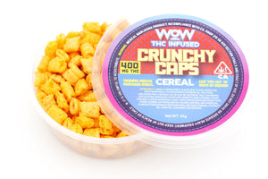 WOW Cereal - Crunchy Caps, 400mg