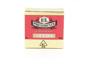 El Presidente Gummy - Watermelon 100mg (previously Presidential)