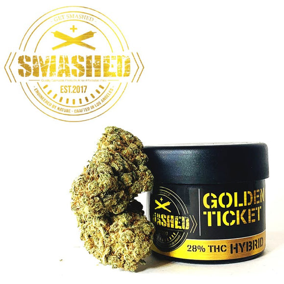 *Smashed* Pre-Packaged Flower - Golden Ticket
