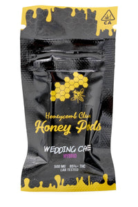 Honeycomb Clear Honey Pod - Wedding Cake (Hybrid) *JUUL Compatible*