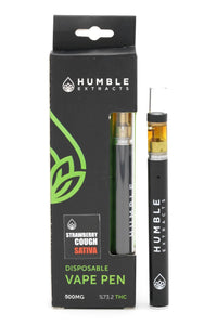 Humble Extracts Disposable - Strawberry Cough