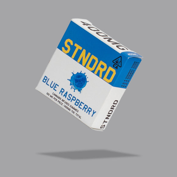 *Stndrd Company* Blue Raspberry 400mg Gummies