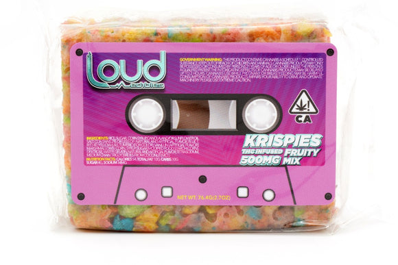 LOUD Krispies - Fruity 500mg