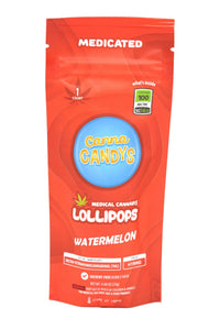 Canna Candy's Lollipops 100mg - Watermelon