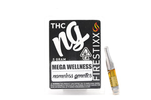 Nameless Genetics Cartridge - Mega Wellness